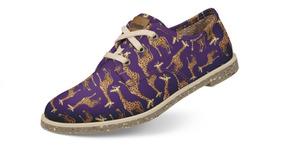 Sapato Usthemp Legend Vegano Casual Estampa Girafa