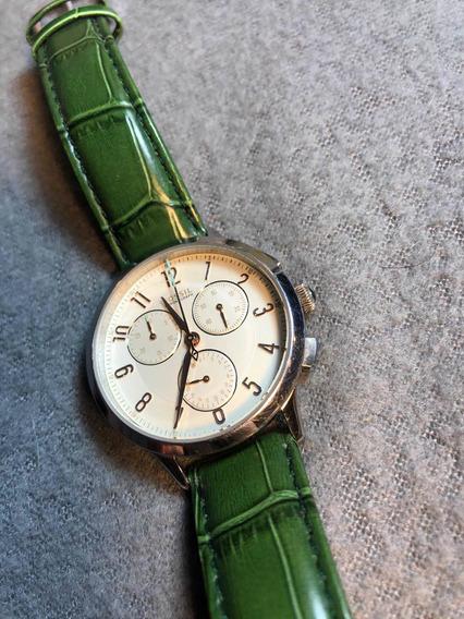 Reloj Fossil Abilene Ch3014 Usado Con Correa De Piel