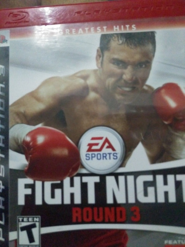 Fight Night Round 3 Ps3 Original, Mídia Física