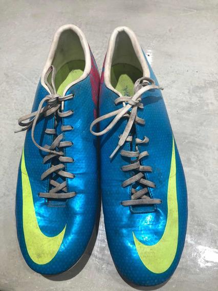 Botines Nike Mercurial Tapones Cancha 11