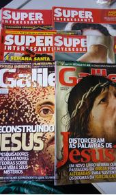6 Revista Com Tema Jesus - Super Barato!