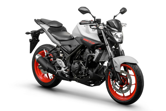 Yamaha Mt-03 | Cinza / Laranja | 0km