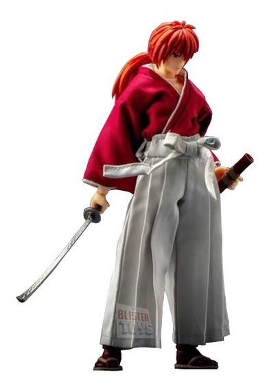 Boneco Samurai X Rurouni Kenshin Himura Dasin Model Cmt Novo
