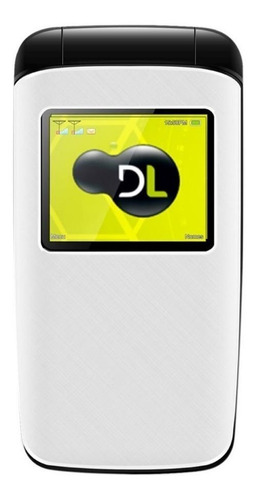 DL YC-330 Dual SIM 32 MB branco 32 MB RAM