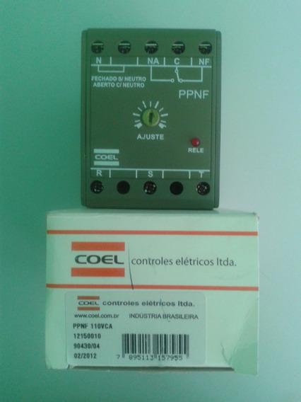 Monitor Trifásico Falta/sequência Fase Coel Psmf 440vca