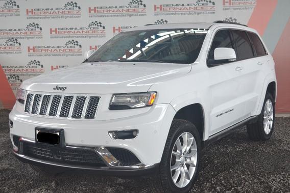 Jeep Grand Cherokee 2014 Summit T.a 4x4 Blanca