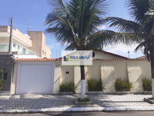 Casa Com 4 Dorms, Balneário Flórida, Praia Grande - R$ 750 Mil, Cod: 830066 - V830066