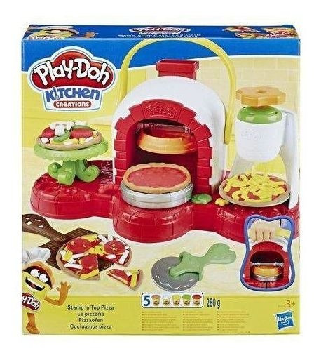 Play Doh Kitchen Creations - Forno Para Pizza ¿ Hasbro