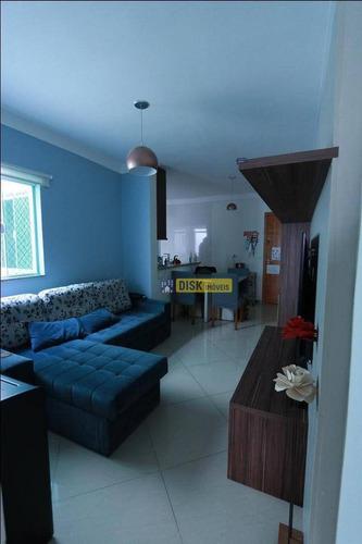 Imagem 1 de 12 de Cobertura Com 2 Dormitórios À Venda, 129 M² Por R$ 410.000,00 - Vila Leopoldina - Santo André/sp - Co0060