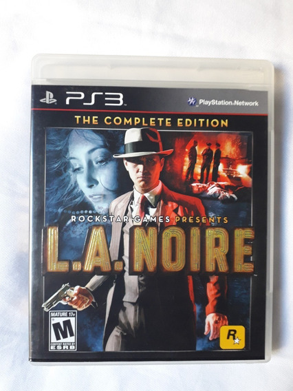 Ps3 - La Noire Complete Edition - Completo - Ótimo Estado.