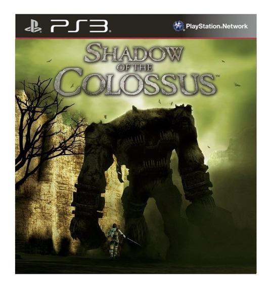 Shadow Of The Colossus Ps3 Psn Jogo Digital Envio Na Hora!