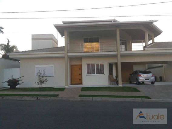 Casa Com 4 Dormitórios À Venda, 390 M² Por R$ 880.000,00 - Jardim Santana - Hortolândia/sp - Ca6322