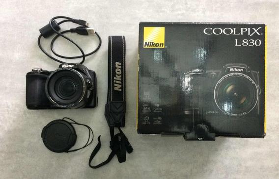 Cámara Semi-profesional Nikon Coolpix L830