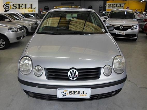 Vw - Polo Hatch 2006 Prata 1.6 Total Flex