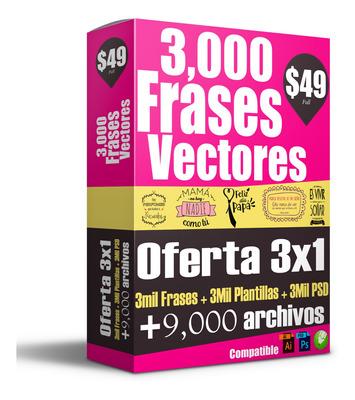 + 3500 Plantillas, Frases Para Tazas O Para Estampar