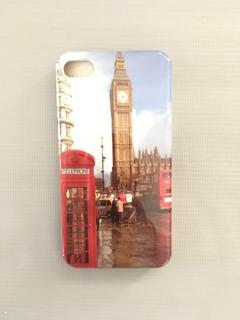 Capa Case iPhone 4 / 4 S Londres Cabine Telefônica