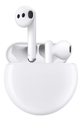 Imagen 1 de 5 de Audífonos in-ear inalámbricos Huawei FreeBuds 3 ceramic white