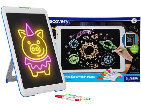 Tableta Luminosa Electronica Arte Niño Juguetes Discovery