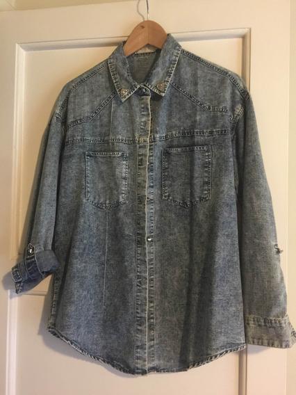 Camisa Jeans Nevada T Jazmín Chebar