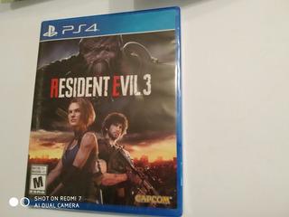 Resident Evil 3 Remake Playstation 4 Fisico