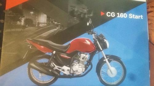 Folder Moto Honda Cg 160 Start