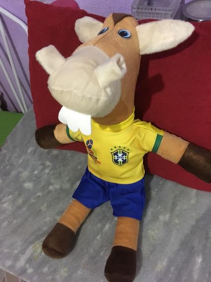 Cavalinho Da Seleção Brasileira Futebol Pelúcia / Fantástico