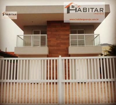 Casa A Venda No Bairro Vila Santo Antônio Em Guarujá - Sp. - 133-22265