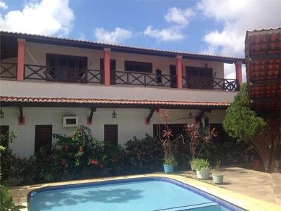 Casa Com 4 Dormitórios À Venda, 396 M² Por R$ 1.200.000 - Vila União - Fortaleza/ce - Ca0524