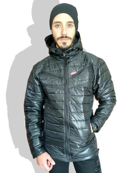 Jaqueta De Nylon Camuflado Masculina B29 Inverno Moto