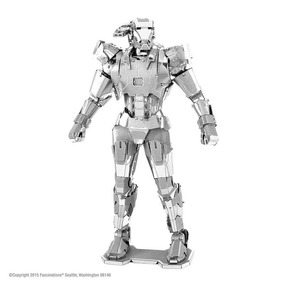 Mini Réplica De Montar Marvel War Machine