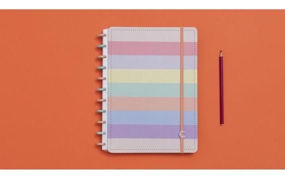 Caderno Inteligente Amarelo 80f Grande 1 Un
