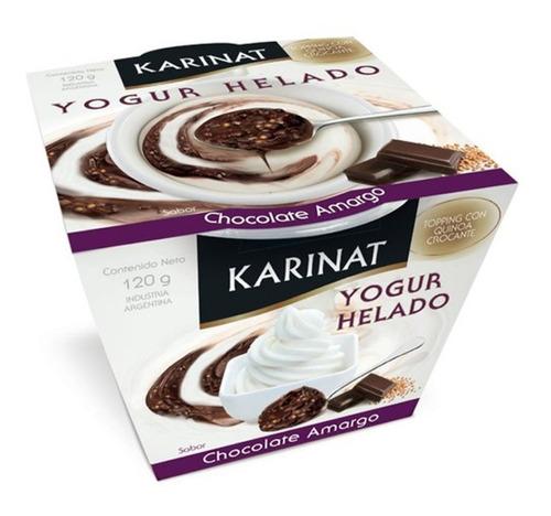 Imagen 1 de 7 de Yogurt Chocolate Amargo Karinat X 120g