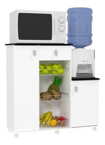 Armário De Cozinha Multiuso Fruteira Branco Maxi Ej