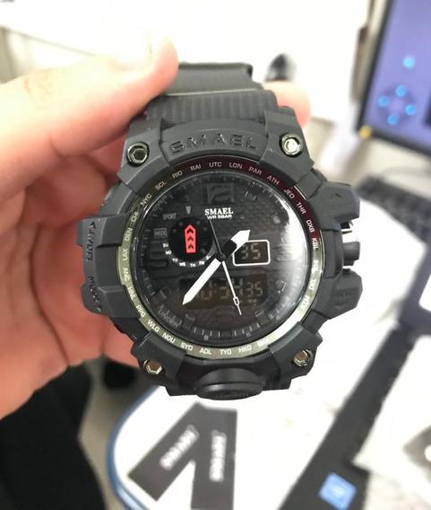 Relógio Smael Tipo G Shock Militar A Prova D