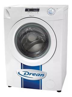 Lavarropas automático Drean Next 6.08 inverter blanco 6kg 220V
