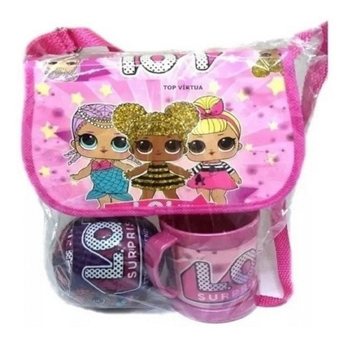 Boneca Lol Surprise Kit Bolsa + Caneca + Boneca  Oferta