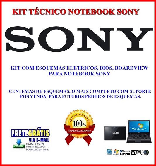 Kit Notebook Sony ,com Esquemas Eletrico, Bios, Boardview