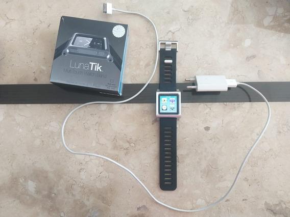 iPod Nano Aple 8gb Multi Touch + Blacelet De Montre Grátis