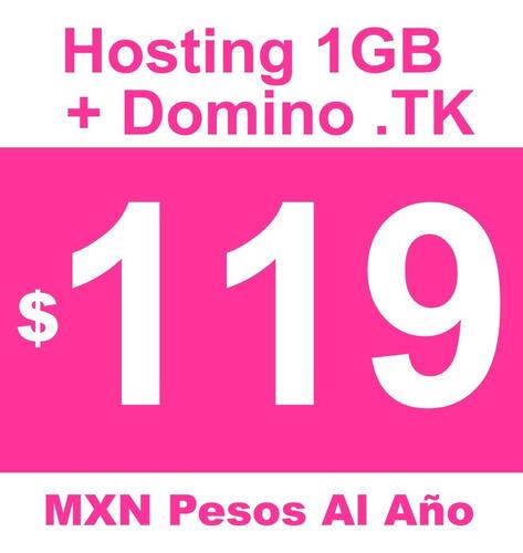 Imagen 1 de 3 de Hosting Mexico  + Dominio Gratis + Hospedaje De Calidad, Ssl Gratis Oferta
