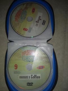 Colección Exploradores De La Historia Dvd X 16