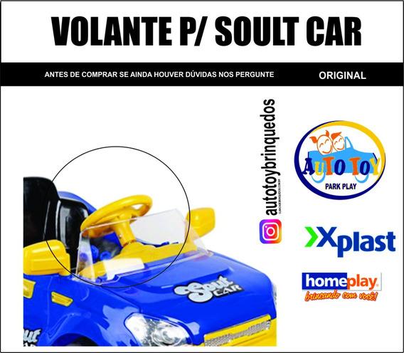 Soult Car 650 - Homeplay - X-plast - Volante Eletrônico
