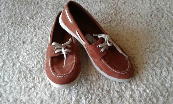 Sapato Camurça Marrom