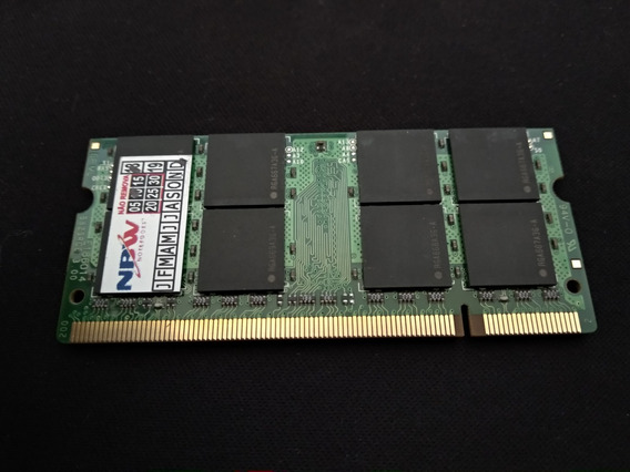 Memoria Ram Notebook 2gb Ddr2 667mhz