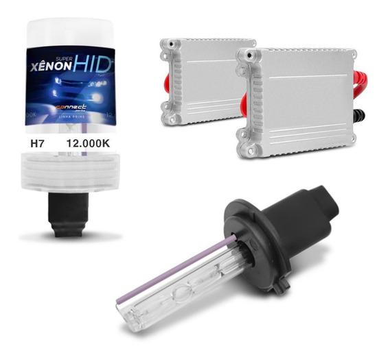 Kit Xenon Lampada H7 12000k 35w Azul Violeta Luz Farol Milha