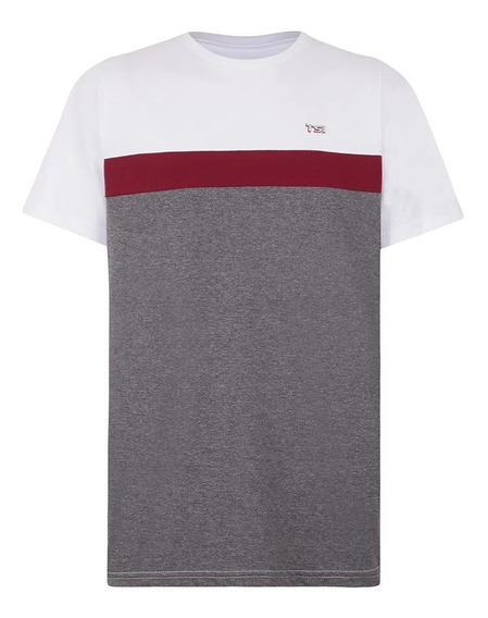 Camiseta Performance Volkswagen Tsi Masculino Mescla Cinza