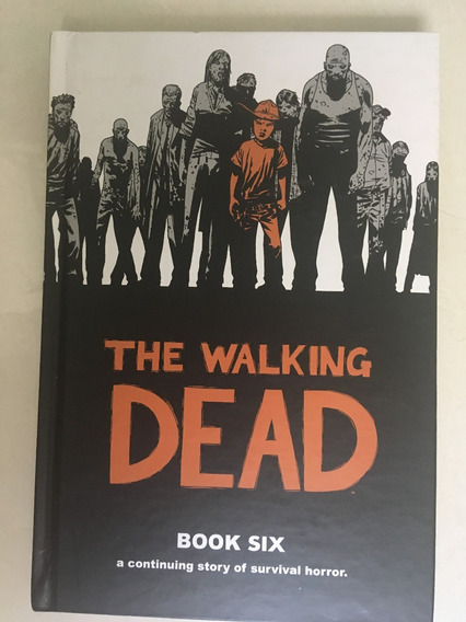 The Walking Dead Book 6 Capa Dura Com 12 Números