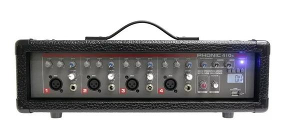 Mixer Amplificado Phonic Powerpod 410r 100w