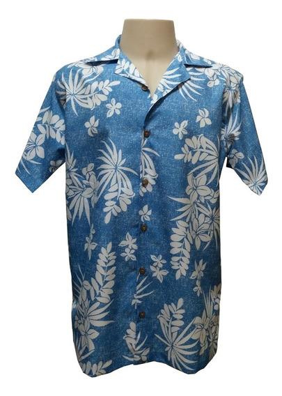 Camisa Masculina Hawaiana 0020 (verifique Medidas)