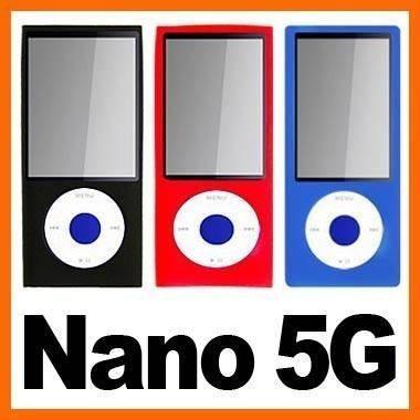 Capa De Silicone P/ iPod Nano 5 Geração * Cinza *
