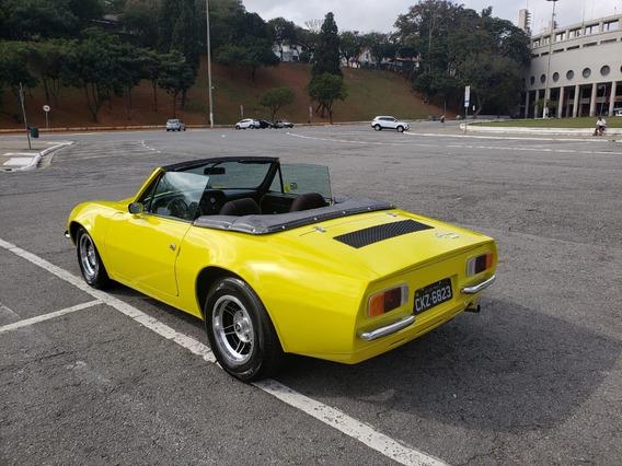 Puma Gts Conversível 1978 Amarela